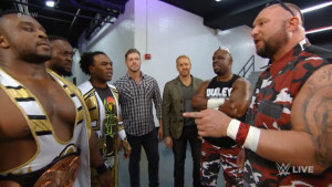 The New Day, The Dudley Boys and Edge & Christian