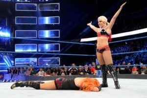 Alexa Bliss wins the WWE Smackdown Women's Championship