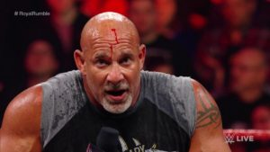 Goldberg is a strong candidate to win the Royal Rumble