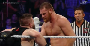 Sami Zayn vs Kevin Owens at WWE Battleground 2016