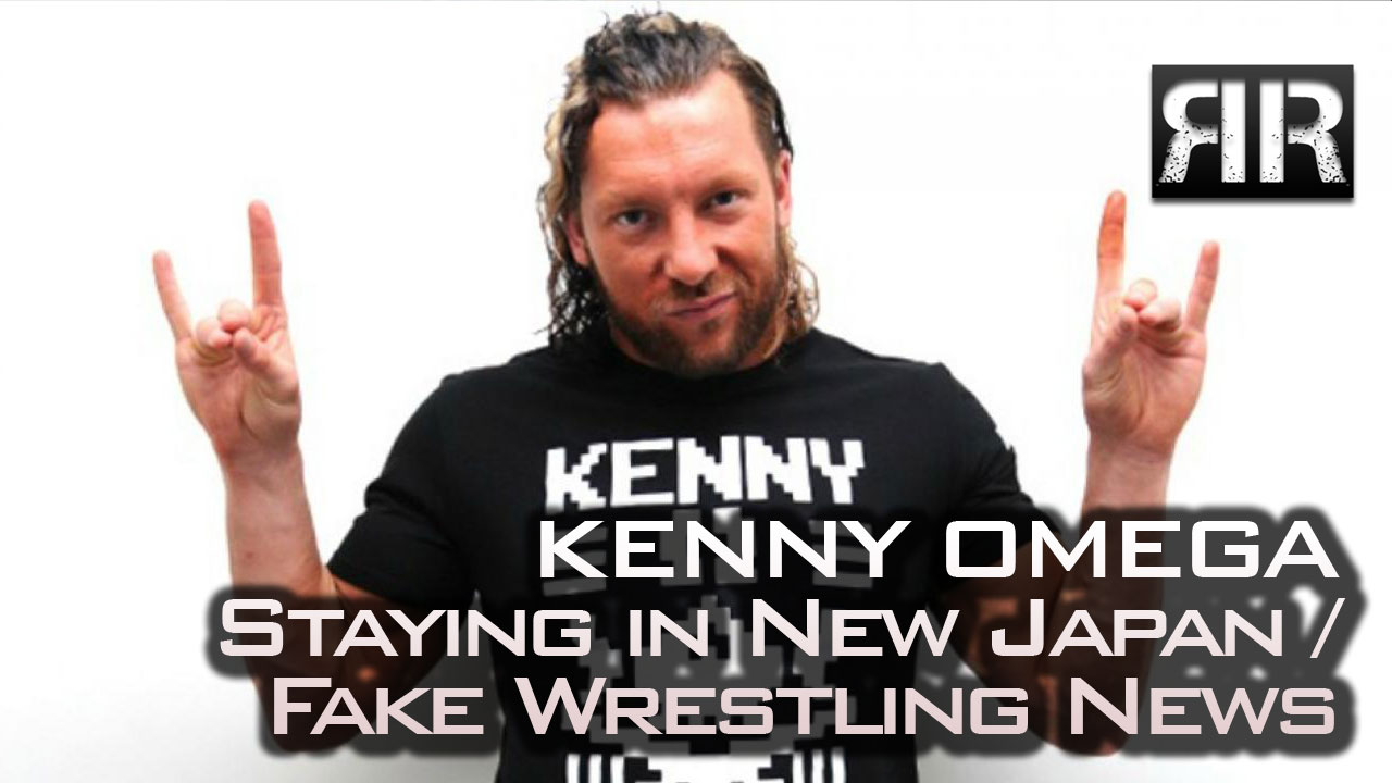 Kenny Omega Staying in New Japan