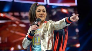 Bayley on WWE RAW