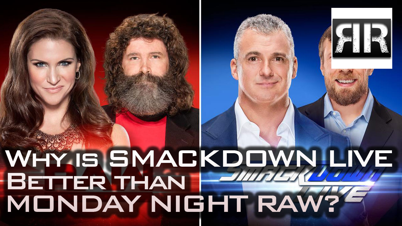 Smackdown LIVE better than Monday Night RAW