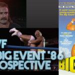 WWF The Big Event 1986 Retrospective