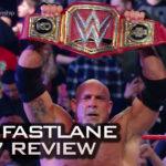 Bill Goldberg wins the WWE Universal Championship