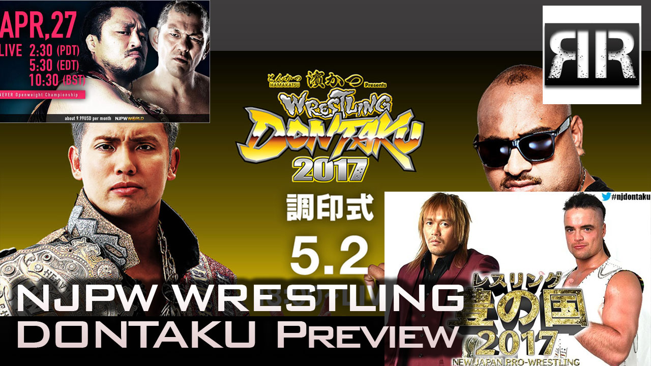 Wrestling Dontaku Preview