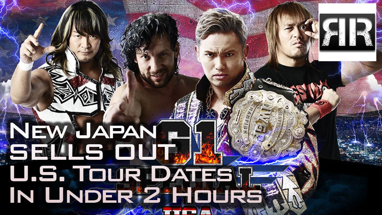 New Japan Sells Out Both U.S. Tour Dates in 2 Hours