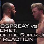 Will Ospreay vs. Ricochet Reaction