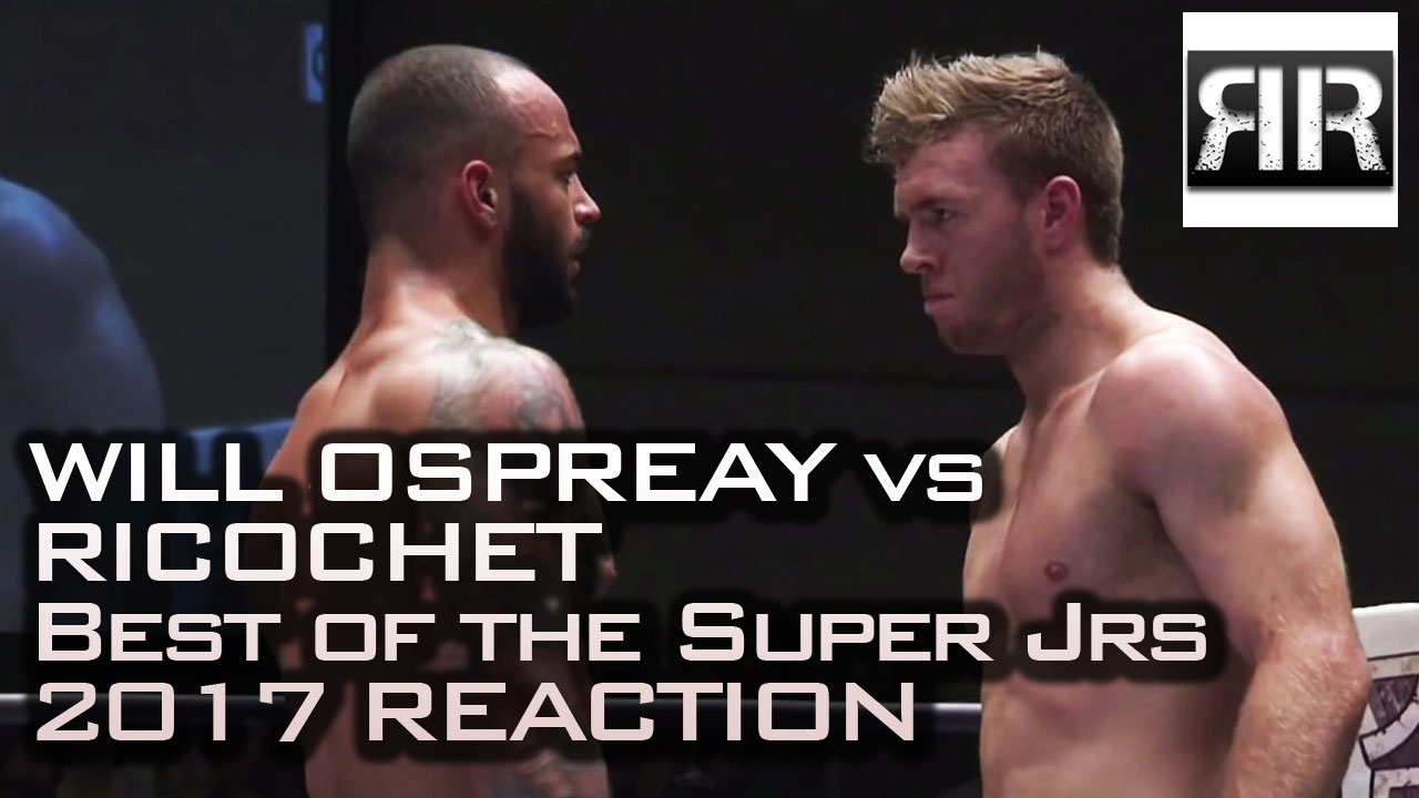 Will Ospreay vs. Ricochet Reaction