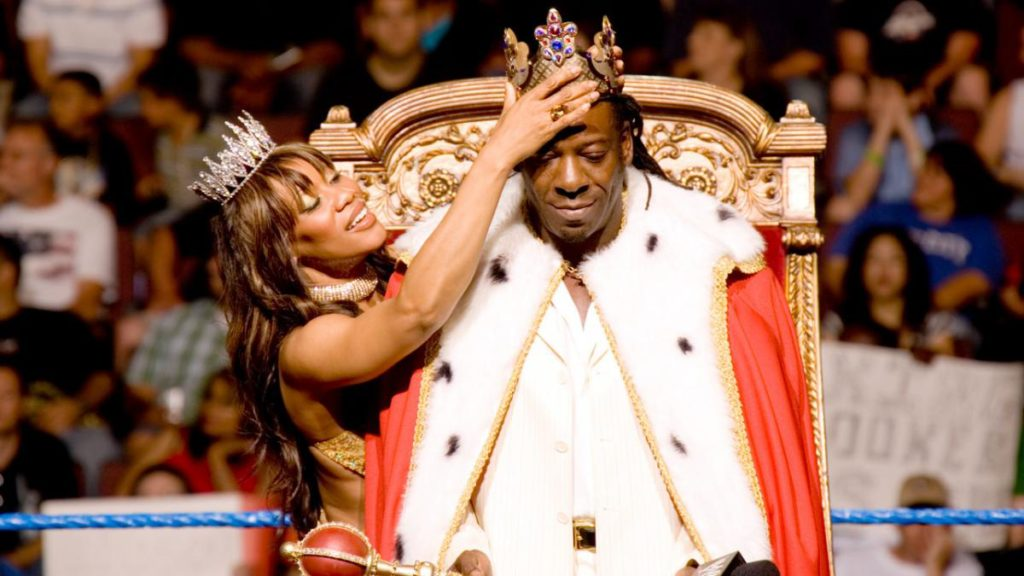 Booker T as WWE King of the Ring