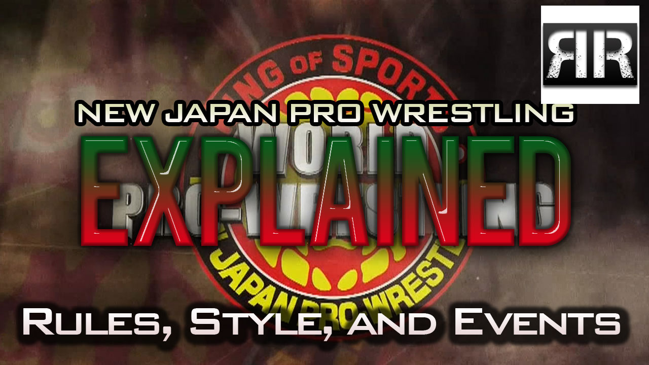 njpw style, rules, and events