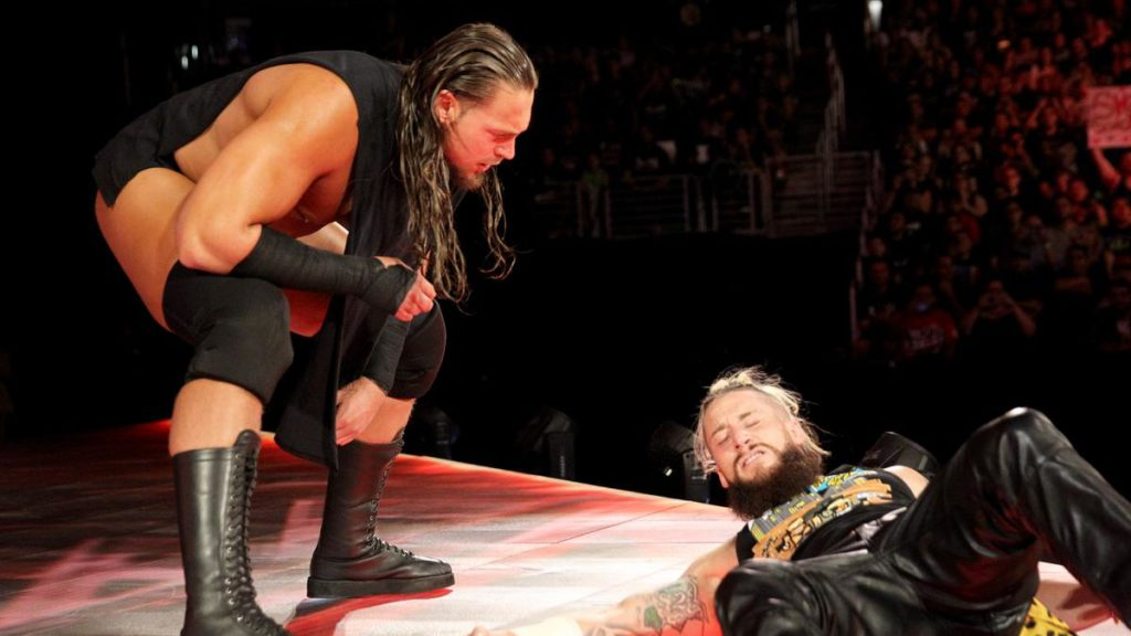 Enzo Amore attacked by Big Cass