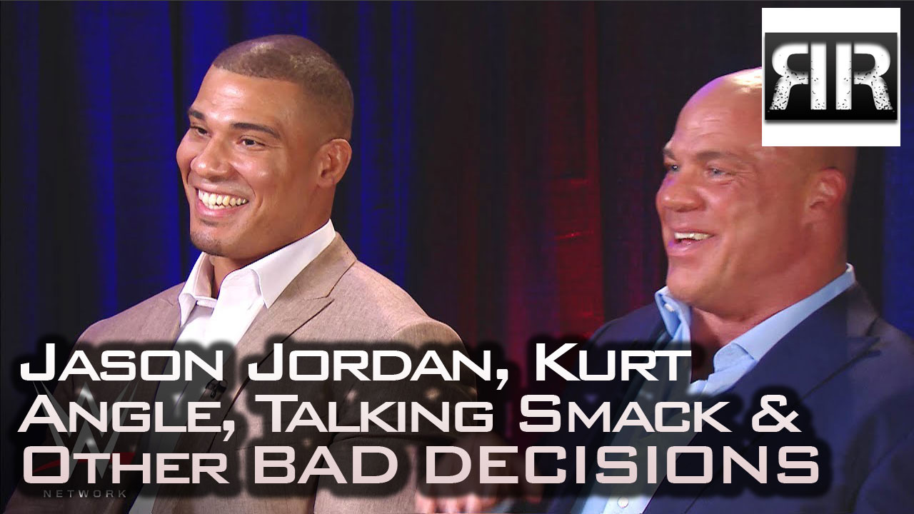 "Jason Jordan revealed as Kurt Angle's ""son"""
