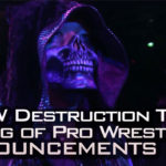 NJPW Destruction and King of Pro Wrestling announcements