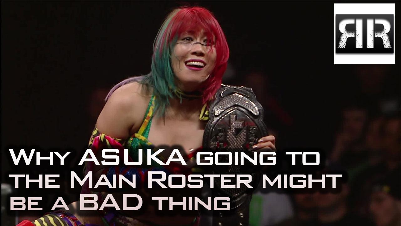 Asuka Relinquished NXT Women's Championship