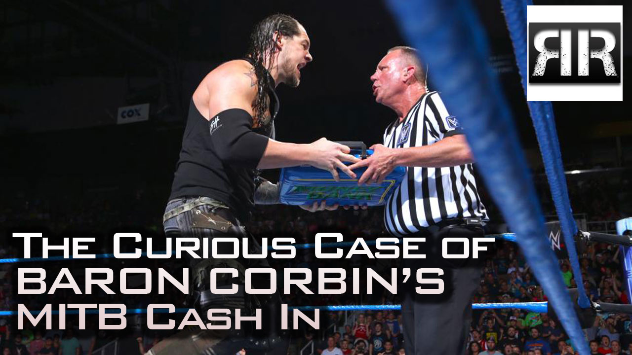 Baron Corbin cashes in Money in the Bank and loses.