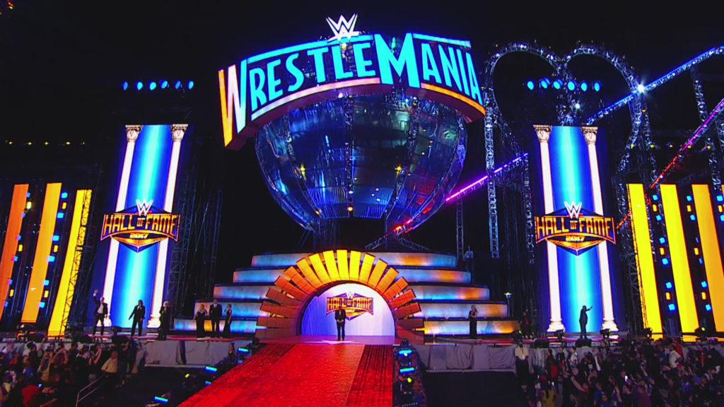WrestleMania stage