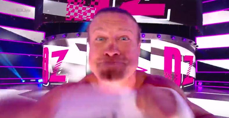 Ziggler mocking John Cena