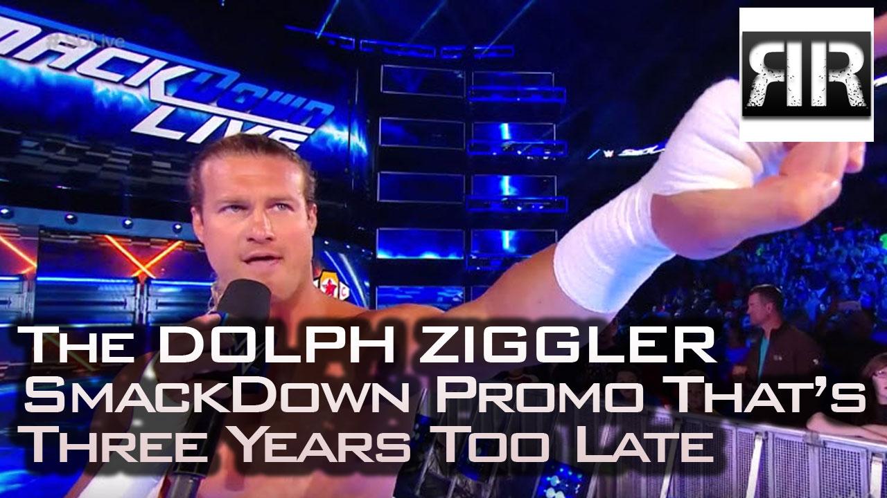 Dolph Ziggler SmackDown LIVE promo