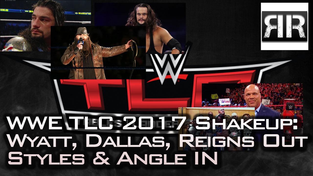 WWE TLC 2017 Shakeup Viral Meningitis