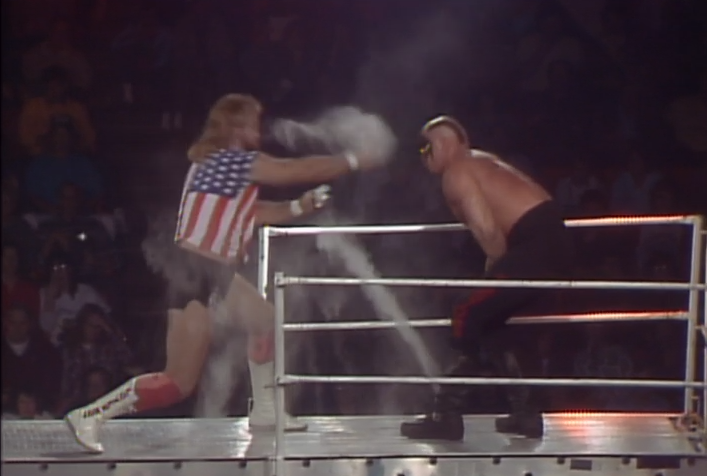 The Midnight Express vs. The Road Warriors at Starrcade 1986