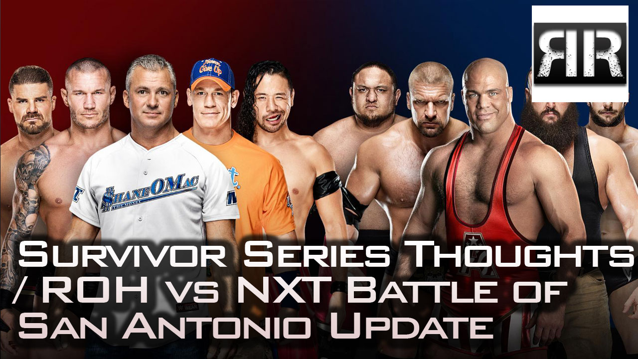 WWE Survivor Series 2017 Thoughts