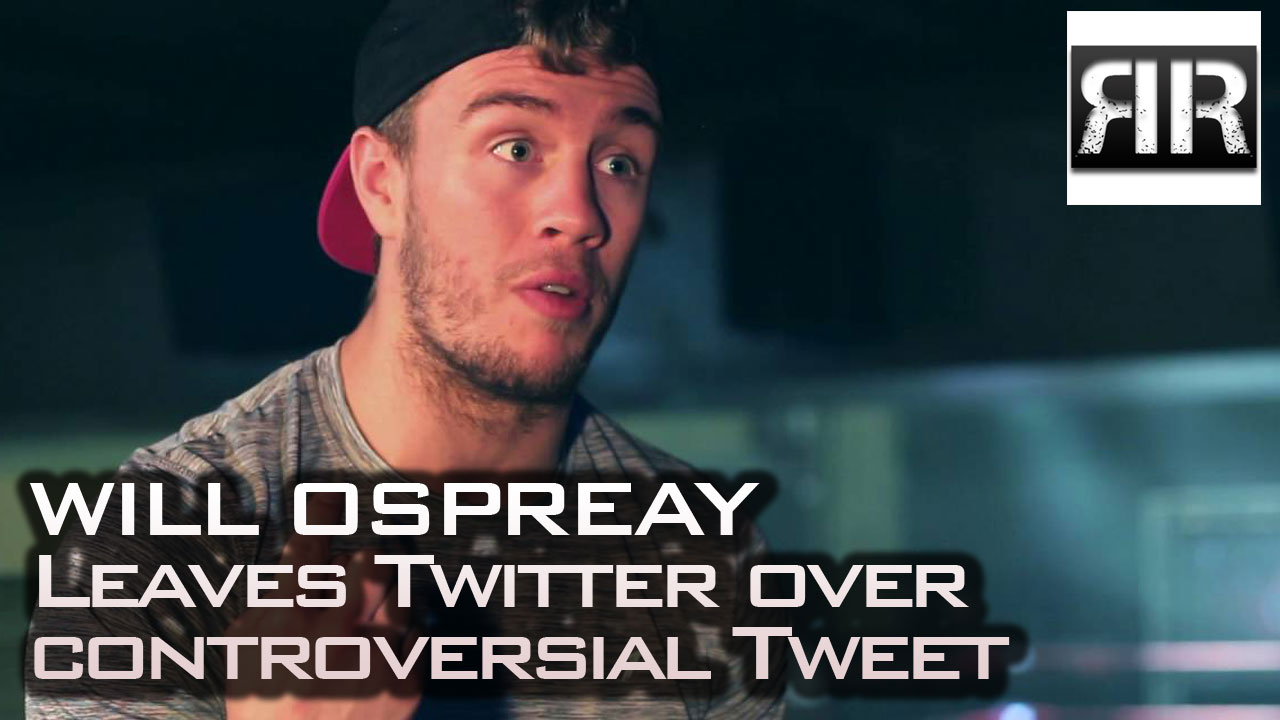 Will Ospreay Leaves Twitter Over Controversial Tweet
