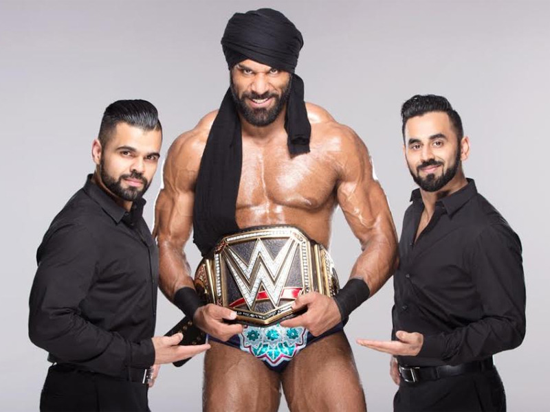 Jinder Mahal as WWE Champion