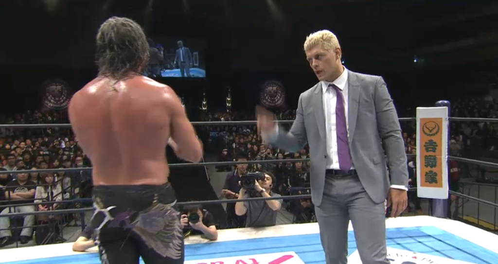 Cody and Kenny Omega