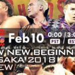 NJPW New Beginning In Osaka 2018 Review