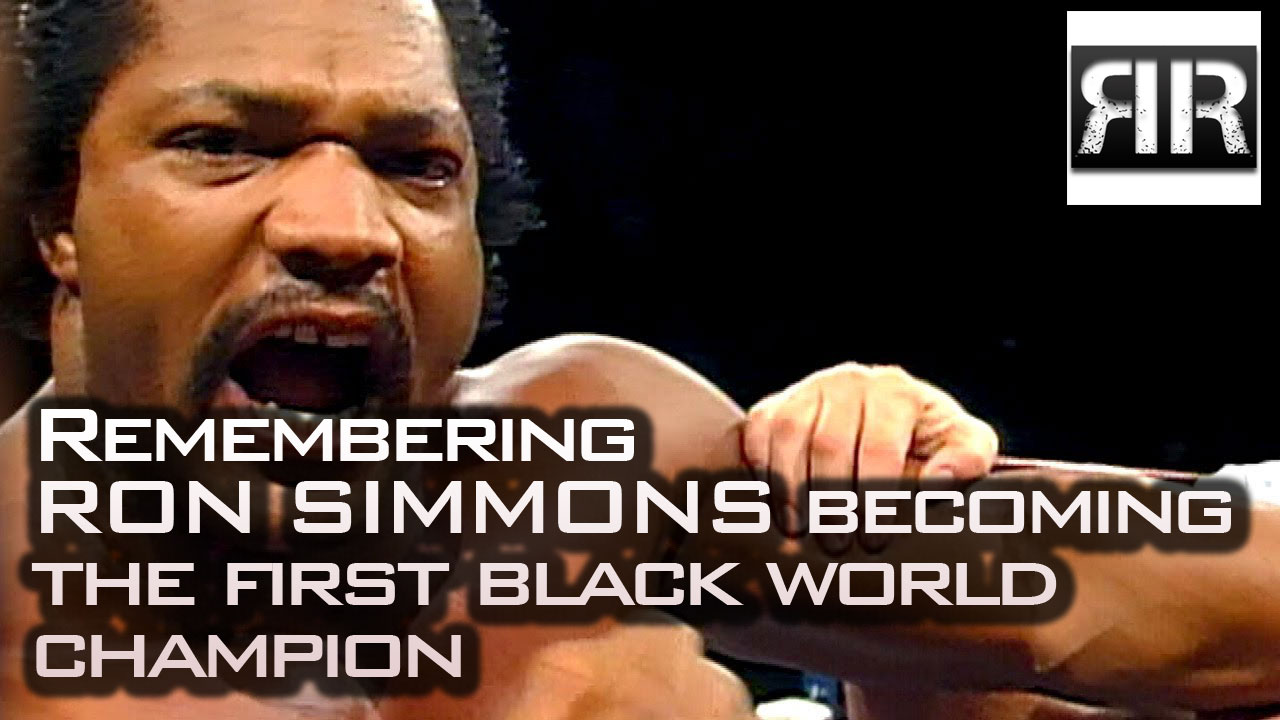 Remembering Ron Simmons Becoming the First Black World Champion