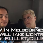 Cody continues to stir the pot within Bullet Club